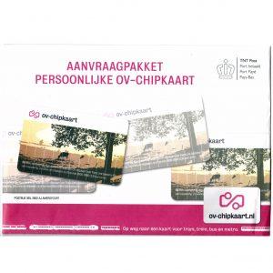 Aanvraagpakket persoonlijke OV-chipkaart