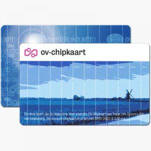 OV-Chipkaart Anoniem Beide Kanten