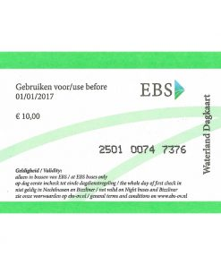 EBS Dagkaart 1-dag Voorkant Vierkant