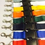 OV-chipkaart hoes met breed keycord en breakaway (8 kleuren)