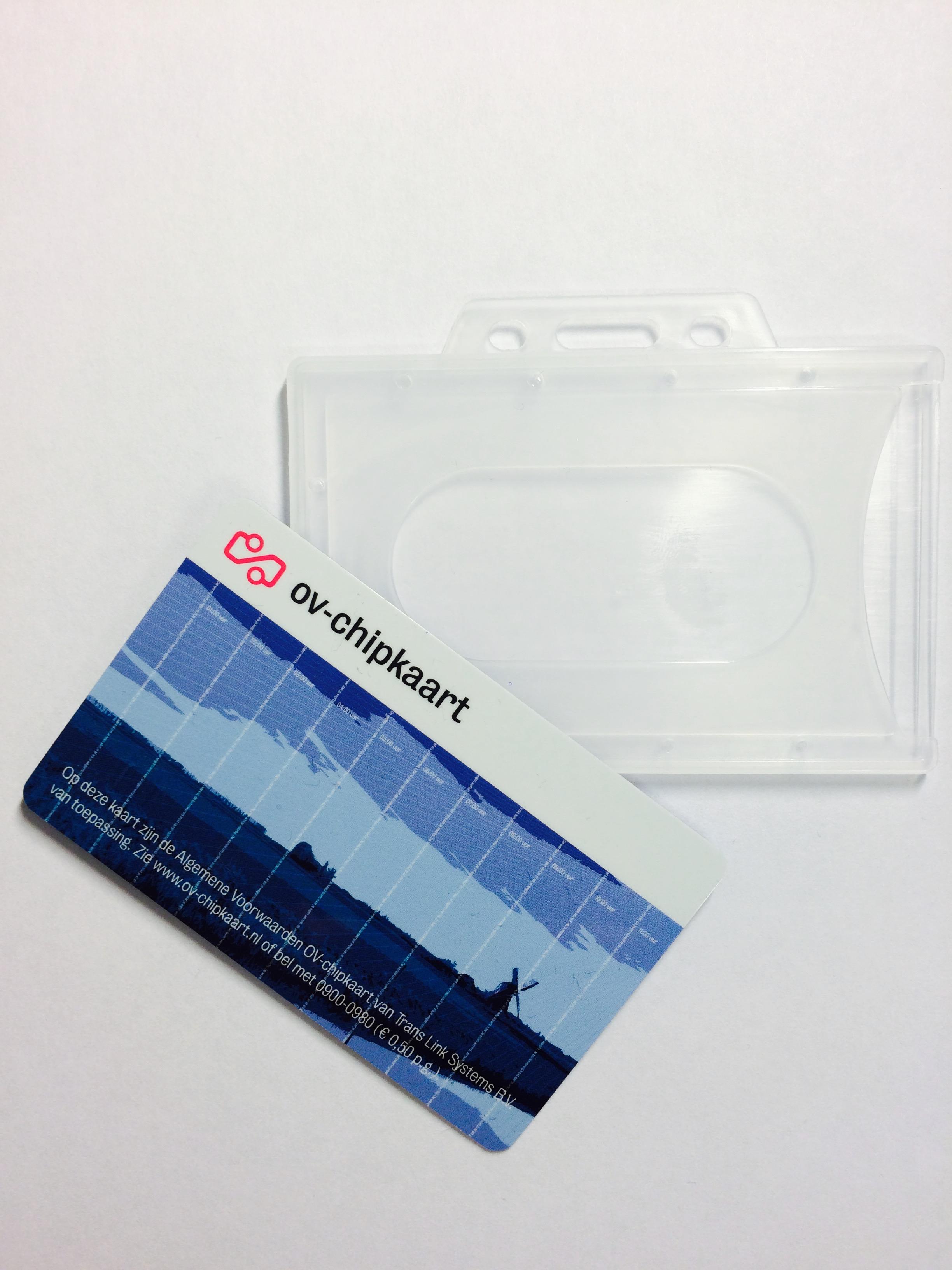 30a594f23d5 OV-chipkaart hoesje transparant - OV Accessoires - OV-chipkaart kopen