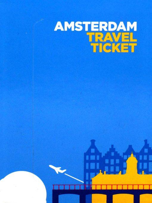 Amsterdam Travel Ticket Kaart