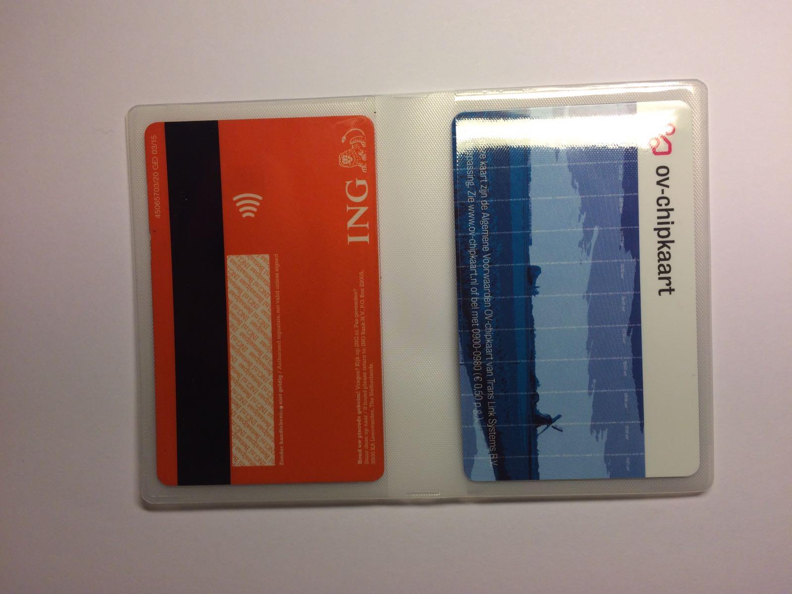 18fff222614 PVC-mapje - Hoesje kopen - ov chipkaart - OV-chipkaart kopen