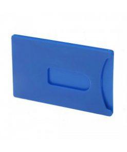 Creditcardhouder blauw