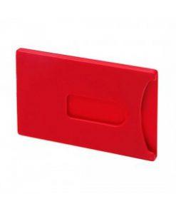 Creditcardhouder rood