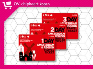 Amsterdam & Region Travel Ticket
