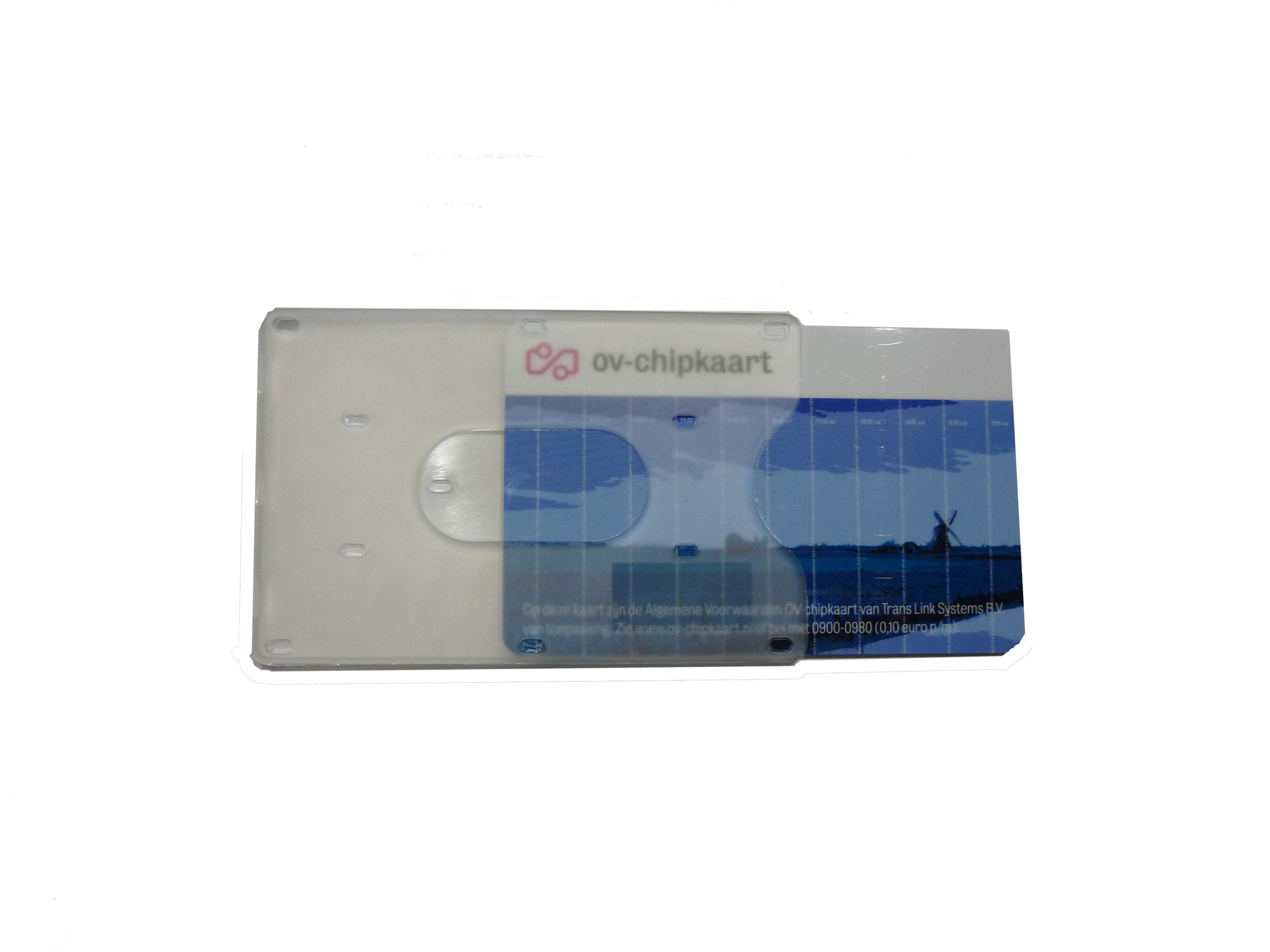 ff88ea6dcde OV-chipkaart hoesje transparant (matte afwerking) - OV-chipkaart kopen