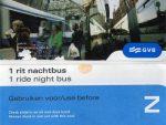 GVB Nachtbus 1 rit