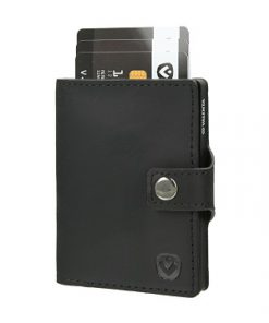 valenta card case black