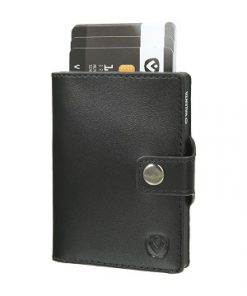 valenta card case black black