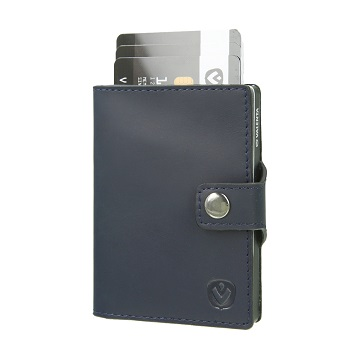 valenta card case blue