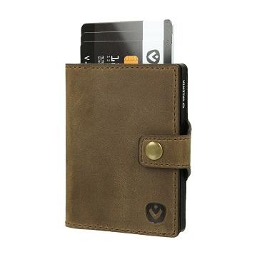 valenta card case brown