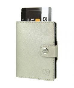 valenta card case gold
