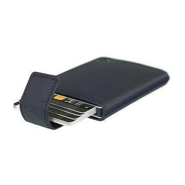 Valenta Card Case Pocket Luxe Blue