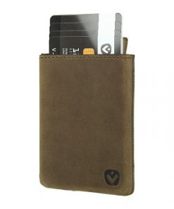 Valenta Card Case Pocket Luxe Brown